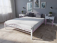 Кровать MELBI Элис Люкс Вуд Двуспальная  140190 см Розовый КМ-018-02-7роз, КОД: 1397171