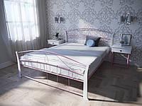 Кровать MELBI Селена Вуд Двуспальная 120190 см Розовый КМ-008-02-5роз, КОД: 1452699