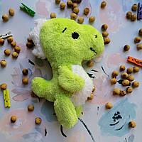 Грелка-игрушка с вишневыми косточками Динозаврик