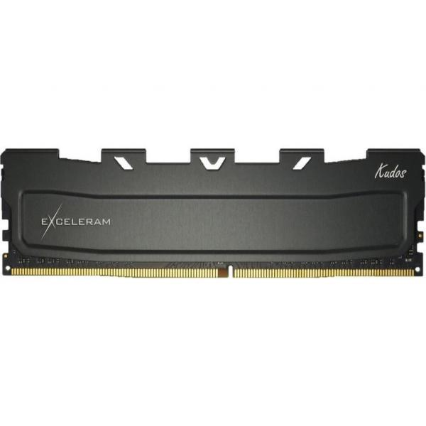 Модуль памяти для компьютера DDR4 16GB 3600 MHz Black Kudos eXceleram (EKBLACK4163618C)