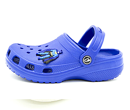 Сабо Luck Line 28-29 18 см Синий 3000 blue 28-29 18 см, КОД: 1768771