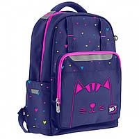 Рюкзак школьный для девочки YES 558137 T-89 Cats