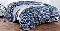 Плед Marie Claire Fania 200х220 см Евро хлопок Синий psgSA-5229, КОД: 1478948