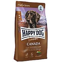 Сухой корм для активных взрослых собак Happy Dog Sensible Canada 1 кг, КОД: 1618826