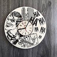 Деревянные настенные часы 7Arts Джокер CL-0261, КОД: 1474414