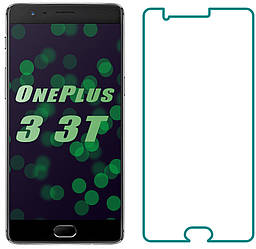 Защитное стекло OnePlus 3 / 3T (Прозрачное 2.5 D 9H) (Ван Оне Плас Плюс 3 3Т)