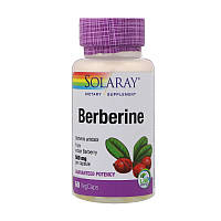 Берберин Solaray 500 мг 60  вегетариальных капсул 30724, КОД: 1535962