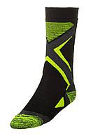 Шкарпетки лижні дитячі Relax Thunder RS036 M Black-Green, КОД: 1471549