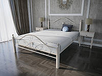 Кровать MELBI Фелиция Вуд Двуспальная 160190 см Бежевый КМ-003-02-3беж, КОД: 1457297