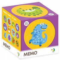 Настольная игра DoDo Toys Мемо Динозавры 300142, КОД: 1318108