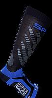 Горнолыжные носки Spring Черно-синий 887 black-blue L42-45, КОД: 1495445
