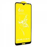 Защитное стекло 6D Glass Premium для Huawei Y7 2019 Черный 106824, КОД: 1537189