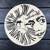 Деревянные настенные часы 7Arts Сальвадор Дали CL-0428, КОД: 1474602