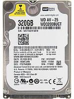 Жесткий диск для ноутбука Western Digital AV-25 320GB 5400rpm 16MB WD3200BUCT Refurbished WD3200B, КОД: 1598129