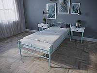 Кровать MELBI Лара Люкс Односпальная 90х190 см Бирюзовый, КОД: 1389114