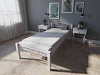 Кровать MELBI Лара Люкс Вуд Односпальная  90200 см Розовый КМ-015-01-2роз, КОД: 1397565
