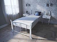 Кровать MELBI Летиция Вуд Односпальная 90190 см Белый КМ-006-01-3бел, КОД: 1456782
