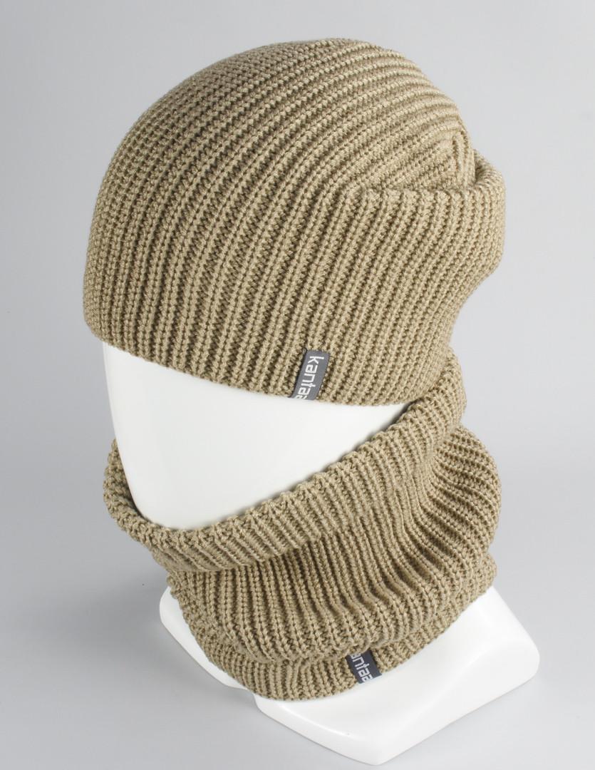 Комплект женский шапка шарф оптом KANTAA
