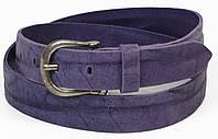 Женский ремень Vanzetti кожаный 112 см Фиолетовый 100063, КОД: 1332325