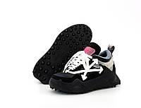 """Кроссовки женские/мужские ОFF-White 0dsy-1000 Sneaker """"Черные"""" размер 36-45"""