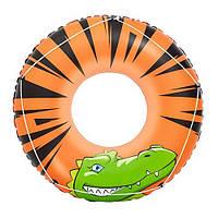Детский надувной круг Bestway 36108 Оранжевый, КОД: 1319413