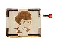 Музыкальная шкатулка Ben Wooden из дерева ручной работы Амели BW2016, КОД: 1333902