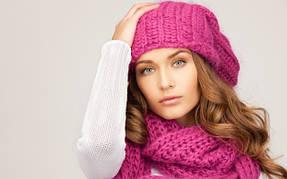 Женские вязанные шапки
