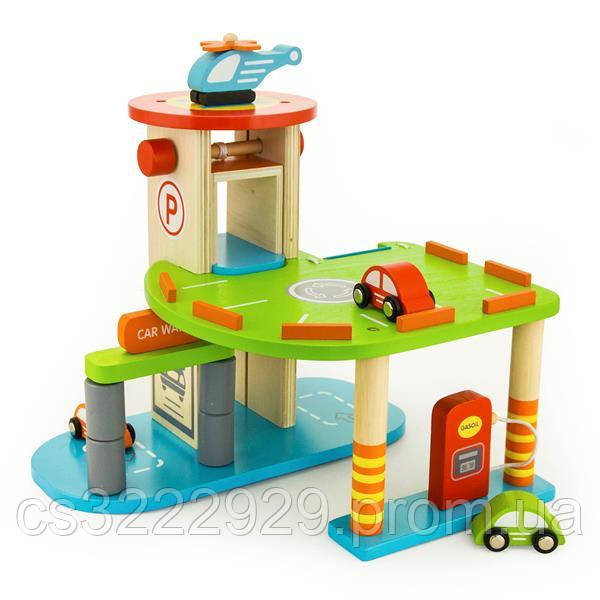 """Игровой набор """"Гараж"""" Viga Toys  (59963)"""