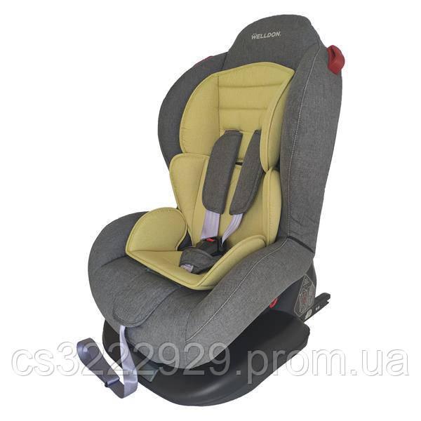 Автокресло Isofix Welldon Smart Sport от 9 месяцев до 6 лет (серый/оливковый) BS02N-TT95-002