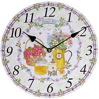 Часы настенные Bona d 29 см Honey Bee psgBD-487-308-PB, КОД: 944937
