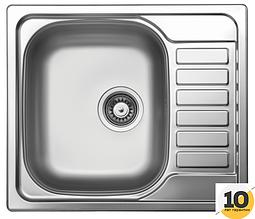 Кухонная мойка 58x50см Kernau KSS G 455 1B1D LINEN