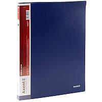 Дисплей-книга Axent А4 папка с 20 файлами синий (1020-02-A)