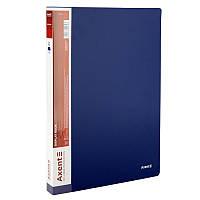 Дисплей-книга Axent А4 папка с 40 файлами синий (1040-02-A)
