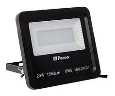 Прожектор светодиодный Feron LL-620 40 LEDS Черный 56563, КОД: 1356669