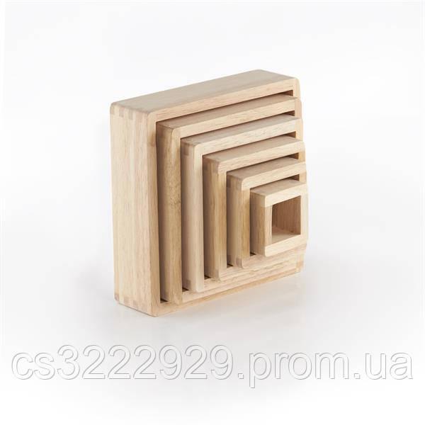 Набір блоків Guidecraft Block Play Кольорова Пірамідка Guidecraft (G5066)