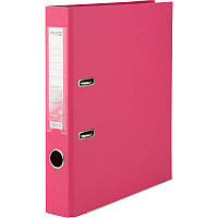 Регистратор 5 см Axent PP А4 двухсторонняя розовый Delta (D1711-05C)