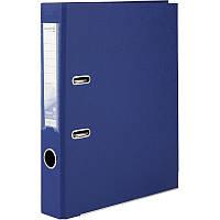 Регистратор 5 см Axent PP А4 двухсторонняя синий Delta (D1711-02C)