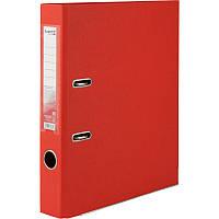 Папка реєстратор 5см Delta by Axent А4 двухстор покр червона D1711-06C