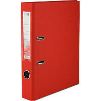 Папка реєстратор 5см Delta by Axent А4 одностор покр червона D1713-06C