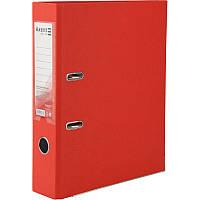Папка реєстратор 7.5 см Delta by Axent А4 одностор покр червона D1714-06C