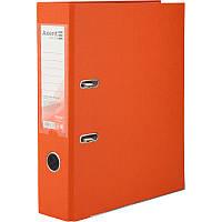 Реєстратор, 7,5 см Axent PP А4 одностороння помаранчевий Delta (D1714-09C)