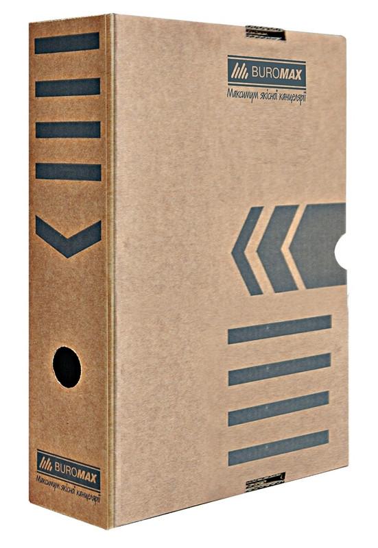Бокс для архівації Buromax 80мм Jobmax крафт BM.3260-34
