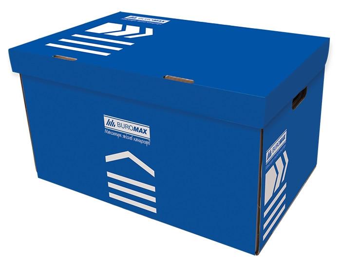 Короб для архивных боксов Buromax синий (BM.3270-02)