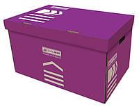 Короб для архивных боксов Buromax фиолетовый (BM.3270-07)