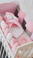 Набор детского постельного белья в кроватку, детское постельное белье в кроватку