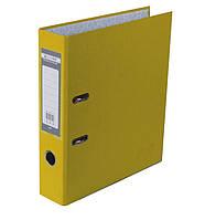 Регистратор 7 см Buromax PP А4 односторонняя желтый (BM.3011-08c)