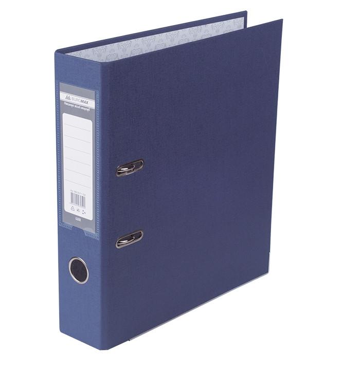 Регистратор 7 см Buromax PP А4 односторонняя синий (BM.3011-02c)