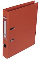 Регистратор 5 см Buromax PP А4 двухсторонняя оранжевый (BM.3002-11c)