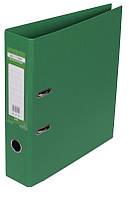 Регистратор 7 см Buromax PP А4 двухсторонняя зеленый (BM.3001-04c)
