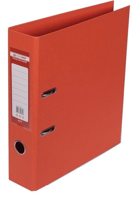 Регистратор 7 см Buromax PP А4 двухсторонняя оранжевый (BM.3001-11c)